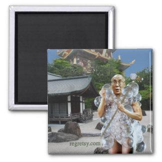 Dalai Gaga 2 Inch Square Magnet