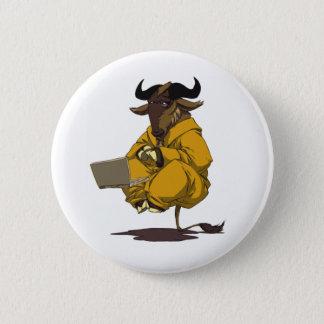 Dalai Gnu Pinback Button