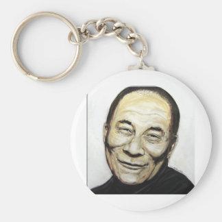 Dalai Lama Basic Round Button Keychain