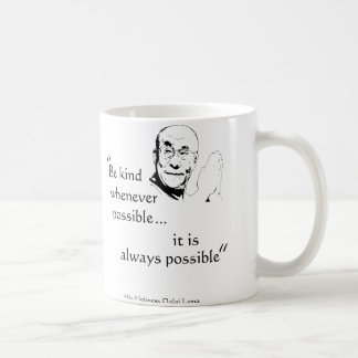 Dalai Lama: Be Kind Coffee Mug