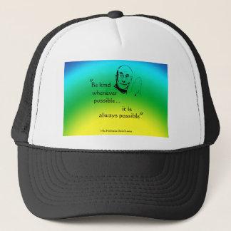 Dalai Lama: Be Kind Trucker Hat