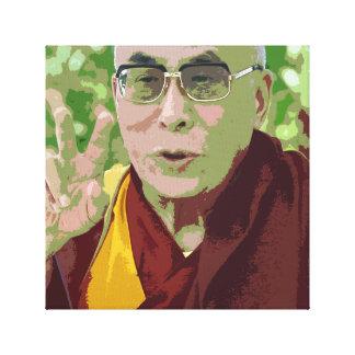Dalai Lama Buddha Buddhist Buddhism Meditation Canvas Print