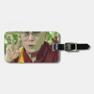 Dalai Lama Buddha Buddhist Buddhism Meditation Yog Bag Tag