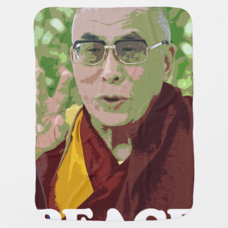 Dalai Lama Buddha Buddhist Buddhism Meditation Yog Swaddle Blanket