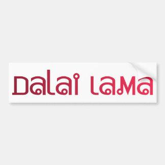 Dalai Lama Bumper Sticker
