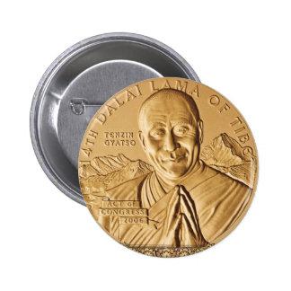 Dalai Lama Button