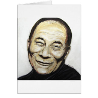 Dalai Lama Greeting Card