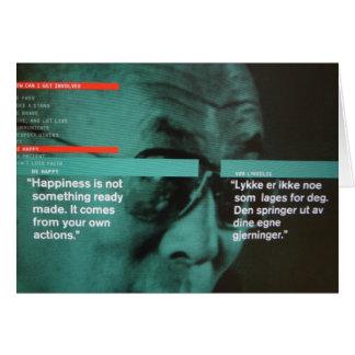 Dalai Lama Card