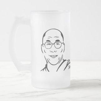 Dalai Lama Frosted Mug