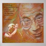Dalai Lama - Hope Póster