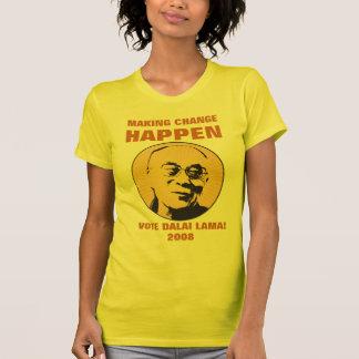 DALAI LAMA, MAKING CHANGE HAPPEN T-Shirt