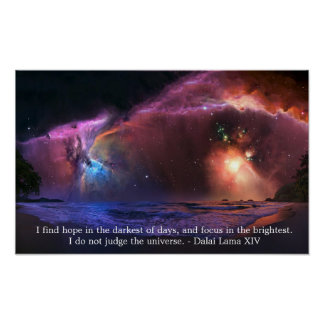 Dalai Lama Nebula poster