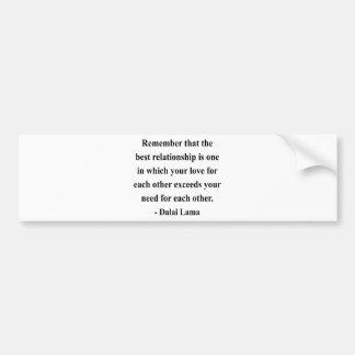 dalai lama quote 11a bumper sticker