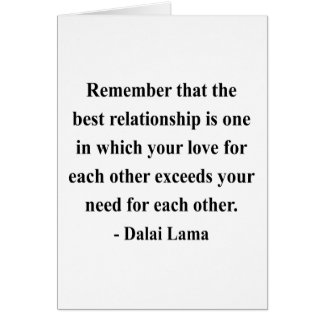 dalai lama quote 11a greeting card