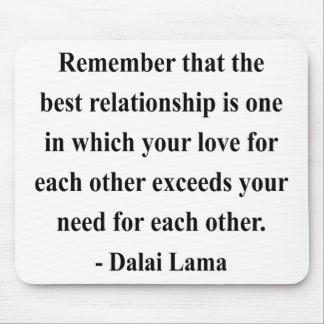 dalai lama quote 11a mouse pad