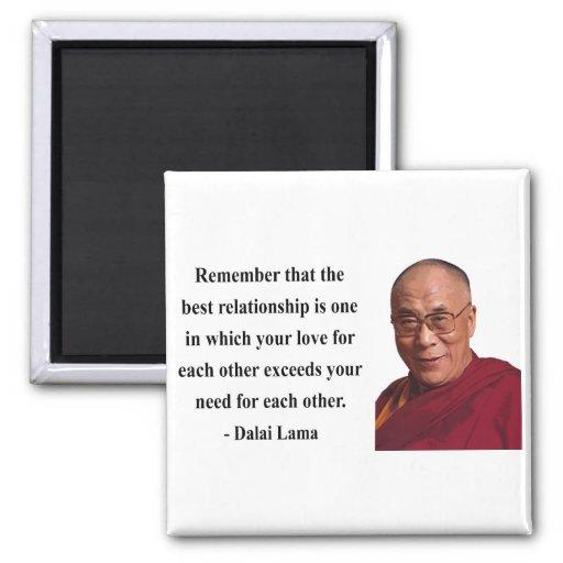 dalai lama quote 11b fridge magnet