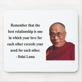 dalai lama quote 11b mouse pad