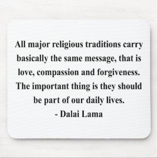 dalai lama quote 12a mouse pad