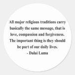 dalai lama quote 12a stickers