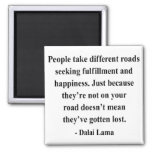 dalai lama quote 1a 2 inch square magnet