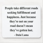 dalai lama quote 1a mouse pad