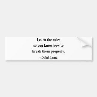 dalai lama quote 2a bumper sticker