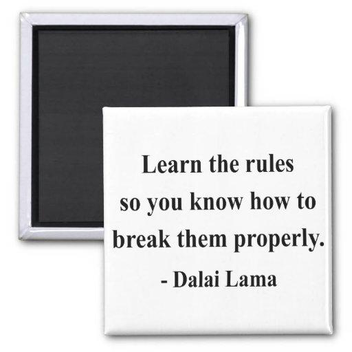 dalai lama quote 2a fridge magnets