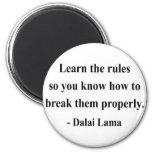 dalai lama quote 2a refrigerator magnet