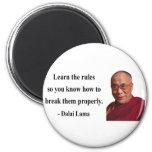 dalai lama quote 2b fridge magnet
