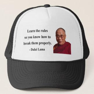 dalai lama quote 2b trucker hat