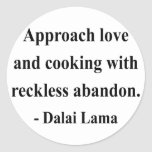 dalai lama quote 3a round stickers