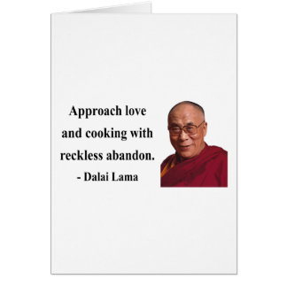 dalai lama quote 3b greeting card