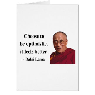 dalai lama quote 4b greeting card