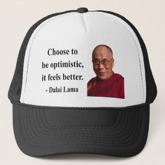 dalai lama quote 4b trucker hat