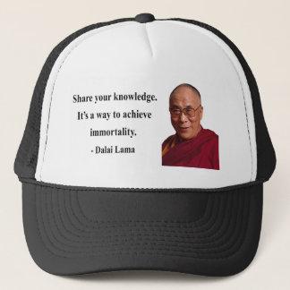 dalai lama quote 5b trucker hat