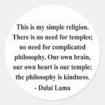 dalai lama quote 6a sticker