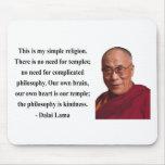 dalai lama quote 6b mousepads