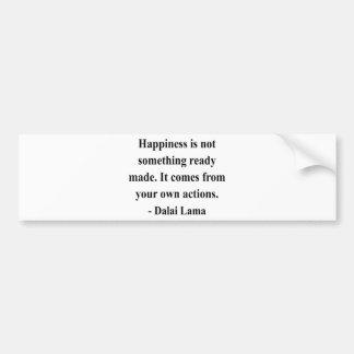 dalai lama quote 9a bumper sticker