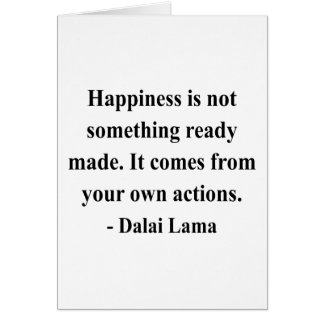 dalai lama quote 9a greeting card