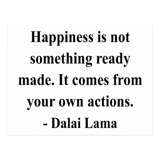 dalai lama quote 9a postcard