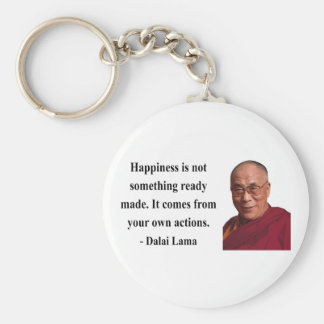 dalai lama quote 9b basic round button keychain