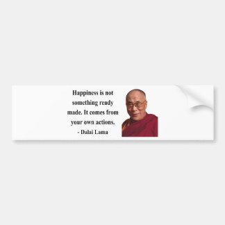 dalai lama quote 9b bumper sticker