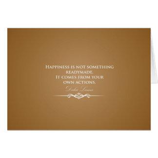 Dalai Lama Quote Greeting Card