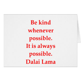 dalai lama quotes greeting card
