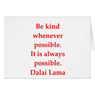 dalai lama quotes card