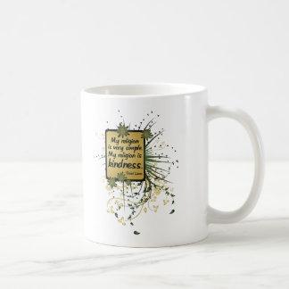 Dalai Lama Religion Quote Coffee Mugs