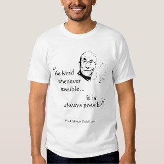 Dalai Lama: Sea bueno Polera