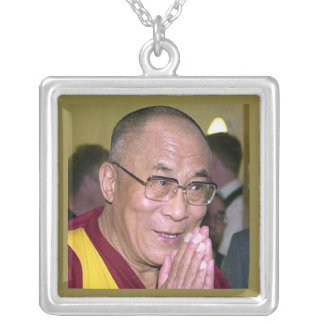 Dalai Lama Silver Plated Necklace