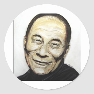 Dalai Lama Classic Round Sticker