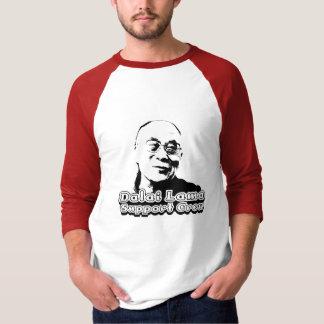 Dalai Lama Support Crew - 3/4-sleeve T-Shirt